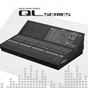 On takes delivery of new Yamaha QL1 & QL5 digital consoles