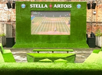 On serves up a Wimbledon treat for Stella Artois