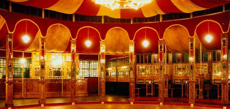 On notches up Nottingham Spiegeltent hat-trick