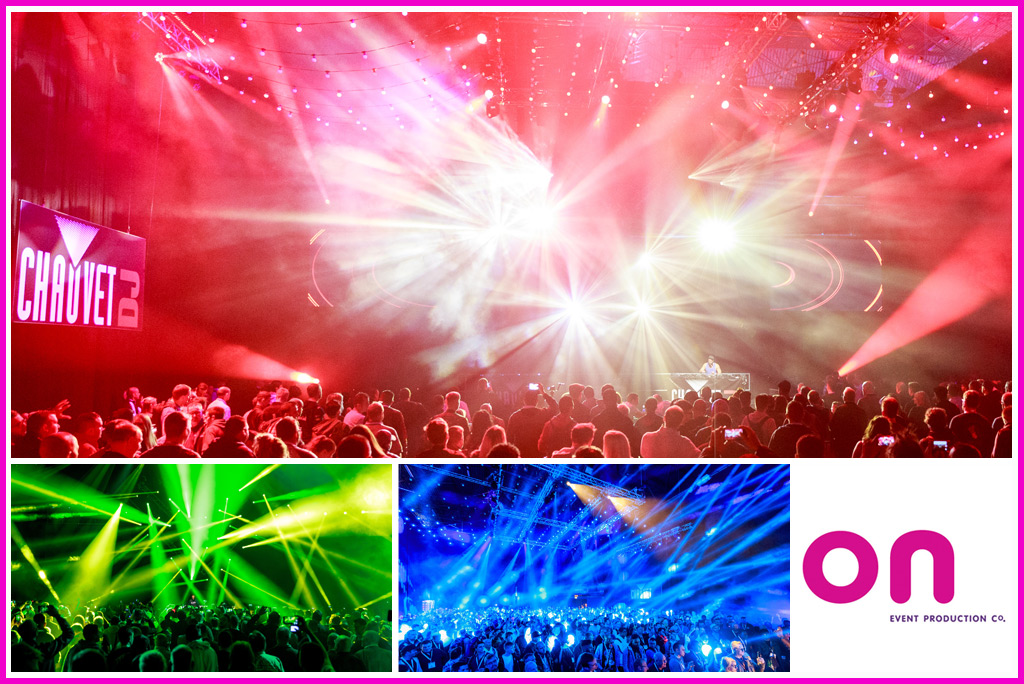 Technical Production Management Services @ BPM | PRO 2017 - Chauvet DJ Main Arena Lighting - On Event Production Co.