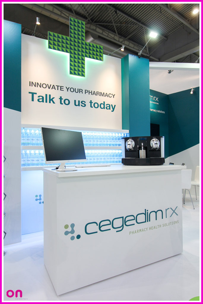 Engaging Exhibition Stand for Cegedim Rx at the Pharmacy Show 2017