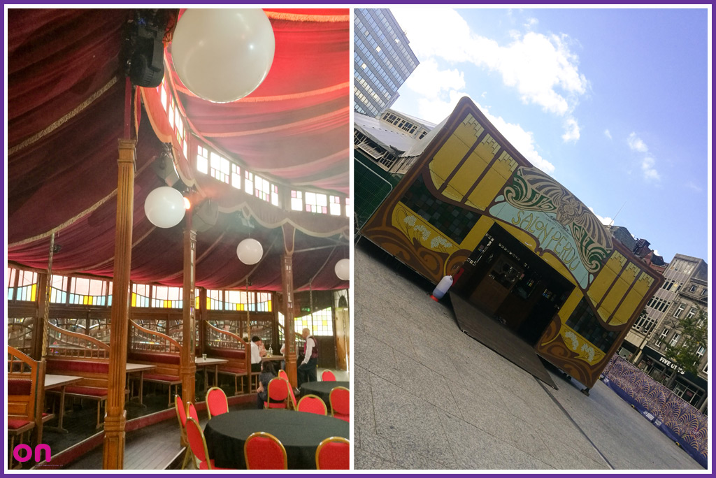 Nottingham SpiegelTent 2017 - Lighting & Sound Production - On Event Production Co.